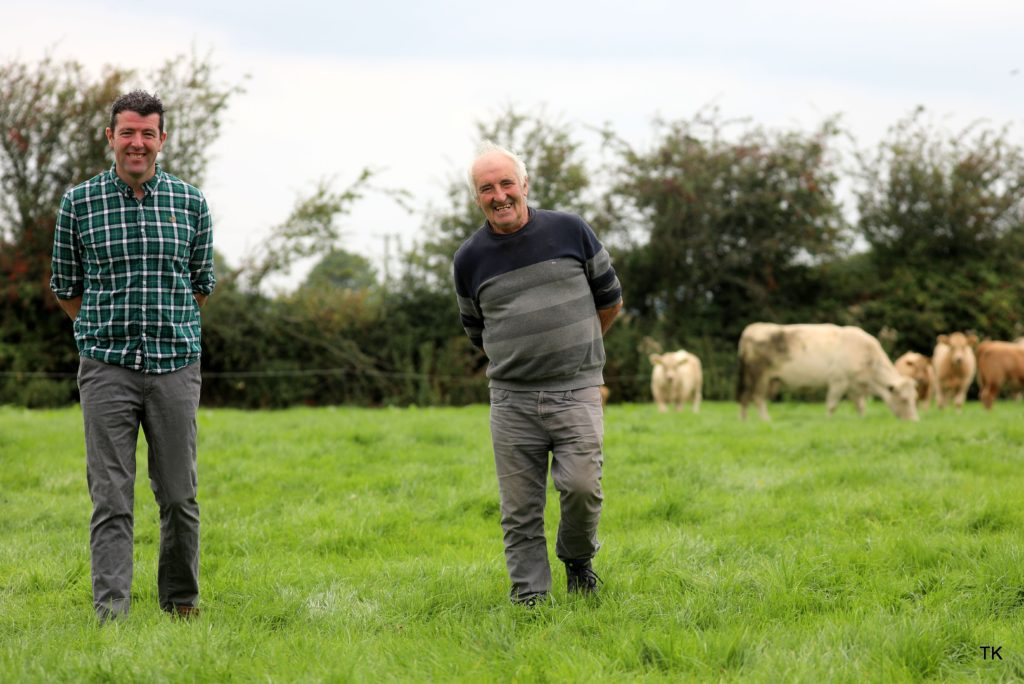 JIM AND BRIAN O LEARY – FIRST PRIZE WINNER – ICCS SUCKLER HERDS COMPETITION 2021